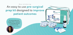 Bruder Introduces new pre-surgical prep kit for ocular surgery patients